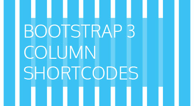 Create Twitter Boostrap Column Shortcodes