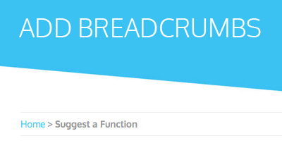 Add SEO Breadcrumbs to your WP Theme