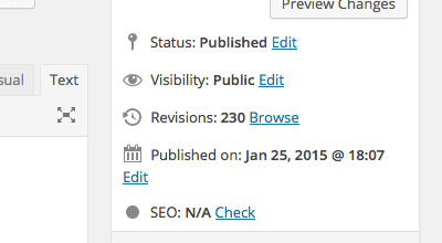 Limit WordPress Post Revisions