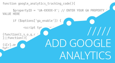 Add Google Analytics Script to Header with Function